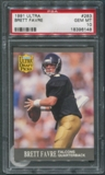 1991 Ultra Football #283 Brett Favre Rookie PSA 10 (GEM MT) *6148
