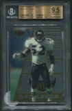 1996 Bowman's Best Football #164 Ray Lewis Rookie BGS 9.5 (GEM MINT) *6184
