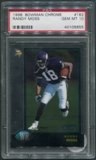 1998 Bowman Chrome Football #182 Randy Moss Rookie PSA 10 (GEM MT) *5655