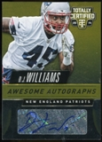 2014 Totally Certified Awesome Autographs Gold #AADW D.J. Williams Serial #25/25