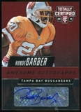 2014 Totally Certified Awesome Autographs Red #AARB Ronde Barber SP