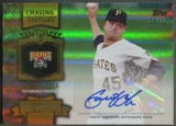 2013 Topps #GC Gerrit Cole Chasing History Gold Auto #08/10