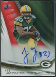 2013 Topps Platinum #AJF Johnathan Franklin Rookie Gold Refractor Auto #4/5