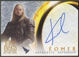 2003 Lord of the Rings Return of the King #NNO Karl Urban as Eomer Auto