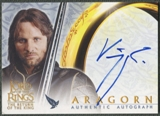 2003 Lord of the Rings Return of the King #NNO Viggo Mortensen as Aragorn Auto