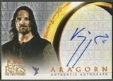 2003 Lord of the Rings Two Towers #NNO Viggo Mortensen as Aragorn Auto
