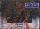 2013 Thor The Dark World #43 Fandral the Dashing and Volstagg Aether Variant Red #05/10
