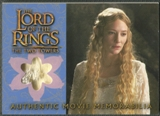 2003 Lord of the Rings Two Towers Update #NNO Galadrial's Silk Chiffon Memorabilia
