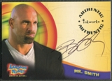 2003 Looney Tunes Back in Action #A5 Bill Goldberg Auto