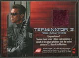 2003 Terminator 3 Rise of the Machines #T3 Hearse T-Worn Costumes