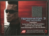 2003 Terminator 3 Rise of the Machines #T1 T-800 T-Shirt T-Worn Costumes