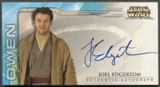 2002 Star Wars Attack of the Clones Widevision #13 Joel Edgerton as Owen Lars Auto
