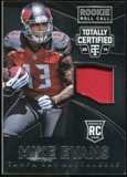 2014 Totally Certified Rookie Roll Call Jerseys #RCCME Mike Evans