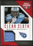 2014 Totally Certified Rookie Clear Cloth #RCCBS Bishop Sankey Serial #9/100