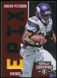 2014 Totally Certified Epix Play Memorabilia Red #EPAP Adrian Peterson