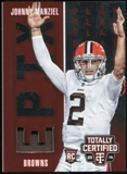 2014 Totally Certified Epix Play Memorabilia Red #EPJM Johnny Manziel