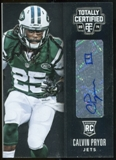 2014 Totally Certified Rookie Signatures #136 Calvin Pryor