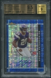 2007 Finest #112 Adrian Peterson Rookie Blue Xfractors Auto #39/50 BGS 9.5 (GEM MINT) *3844