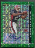 2007 Finest #113 Marshawn Lynch Rookie Green Xfractors Auto #01/25