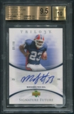 2007 Upper Deck Trilogy #ML Marshawn Lynch Signature Future Auto #09/99 BGS 9.5 (GEM MINT) *5597