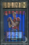 2008 Bowman Sterling #BSA1 Matt Ryan Rookie Blue Refractor Auto BGS 9.5 (GEM MINT) *4262