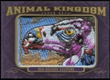 2012 Upper Deck Goodwin Champions Animal Kingdom Patches #AK190 Red-Headed Vulture