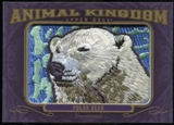 2012 Upper Deck Goodwin Champions Animal Kingdom Patches #AK168 Polar Bear
