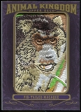 2012 Upper Deck Goodwin Champions Animal Kingdom Patches #AK164 Pig-Tailed Macaque