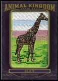 2012 Upper Deck Goodwin Champions Animal Kingdom Patches #AK104 Giraffe