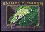 2012 Upper Deck Goodwin Champions Animal Kingdom Patches #AK111 Emerald Tree Boa