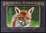 2012 Upper Deck Goodwin Champions Animal Kingdom Patches #AK121 Red Fox