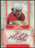 2011/12 ITG Canada vs The World #AML Mario Lemieux Auto SP