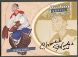 2002/03 Between the Pipes Goalie #35 Charlie Hodge Auto /90