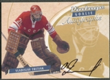 2002/03 Between the Pipes Goalie #30 Vladislav Tretiak Auto /90
