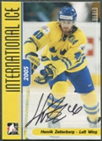 2006/07 ITG International Ice #AHZ Henrik Zetterberg Auto SP