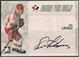 2007 ITG Going For Gold World Juniors #23 Eric Lindros Auto