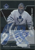 2001/02 BAP Signature Series #LCJ Curtis Joseph Auto SP