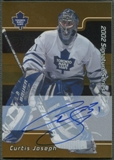 2001/02 BAP Signature Series #LCJ Curtis Joseph Gold Auto SP