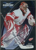 2002/03 BAP Signature Series #155 Curtis Joseph Auto SP