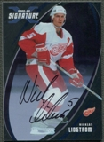 2002/03 BAP Signature Series #162 Nicklas Lidstrom Auto SP