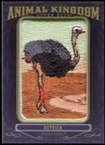 2012 Upper Deck Goodwin Champions Animal Kingdom Patches #AK101 Ostrich LC