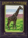 2012 Upper Deck Goodwin Champions Animal Kingdom Patches #AK104 Giraffe LC