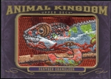 2012 Upper Deck Goodwin Champions Animal Kingdom Patches #AK109 Panther Chameleon LC