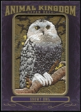 2012 Upper Deck Goodwin Champions Animal Kingdom Patches #AK113 Snowy Owl LC