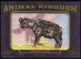 2012 Upper Deck Goodwin Champions Animal Kingdom Patches #AK115 Spotted Hyena LC