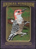 2012 Upper Deck Goodwin Champions Animal Kingdom Patches #AK116 Crimson-Bellied Woodpeck