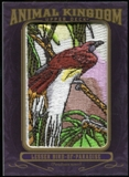 2012 Upper Deck Goodwin Champions Animal Kingdom Patches #AK117 Lesser Bird of Paradise