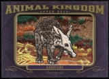 2012 Upper Deck Goodwin Champions Animal Kingdom Patches #AK122 Aardvark LC