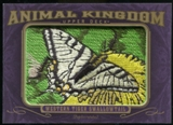 2012 Upper Deck Goodwin Champions Animal Kingdom Patches #AK135 Western Tiger Swallowtai