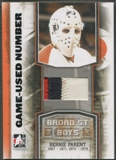 2011/12 ITG Broad Street Boys #M43 Bernie Parent Game-Used Numbers Patch /4